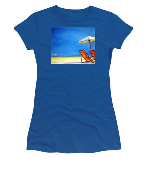 Join Me Women's T-Shirt (Junior Cut) by Suzanne McKee