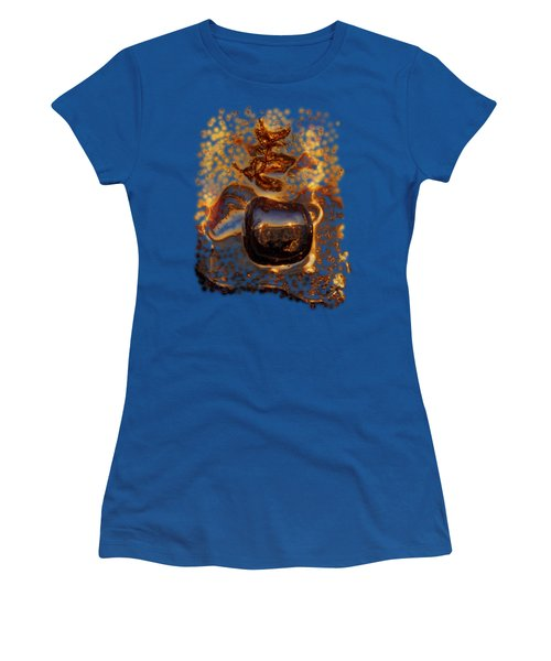 Women's T-Shirt (Junior Cut) featuring the photograph Jump by Sami Tiainen