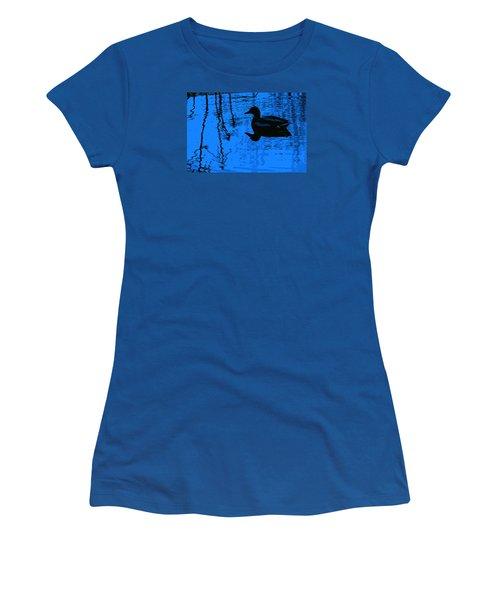 Just Floating Along Women's T-Shirt (Junior Cut) by John Rossman