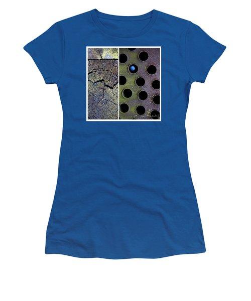 Juxtae #58 Women's T-Shirt (Junior Cut) by Joan Ladendorf