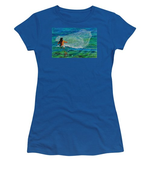 Kauai Fisherman Women's T-Shirt (Athletic Fit)