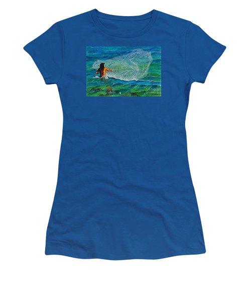 Kauai Fisherman Women's T-Shirt (Athletic Fit)
