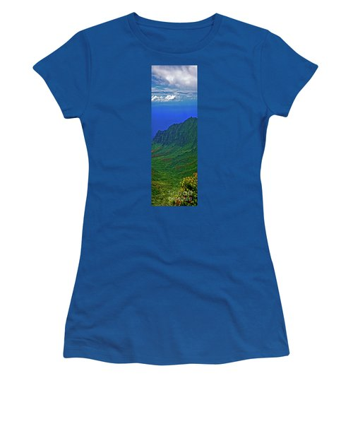 Kauai  Napali Coast State Wilderness Park Women's T-Shirt (Athletic Fit)