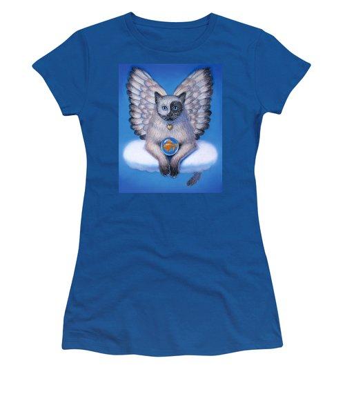 Kitty Yin Yang- Cat Angel Women's T-Shirt
