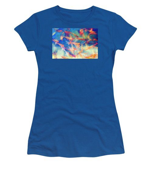 Kolorful Koi Series Women's T-Shirt (Junior Cut)