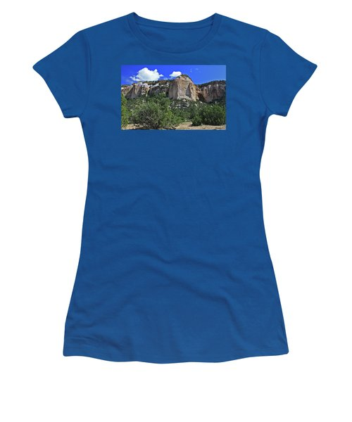 Women's T-Shirt (Junior Cut) featuring the photograph La Ventana Arch by Gary Kaylor