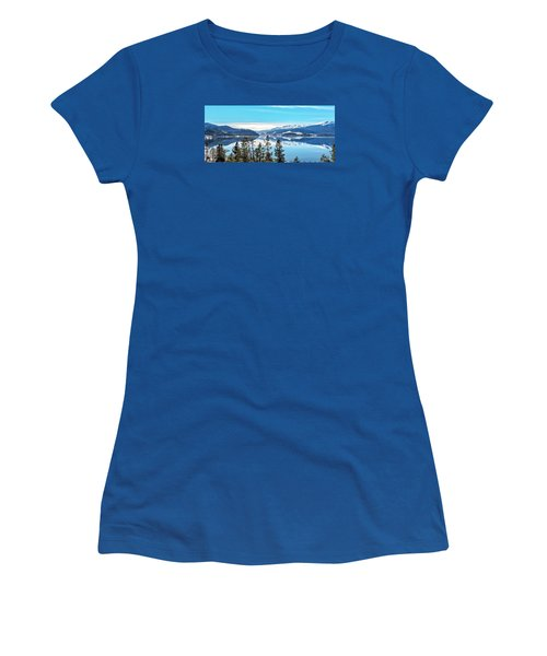 Women's T-Shirt (Junior Cut) featuring the photograph Lake Dillon Colorado by Stephen  Johnson
