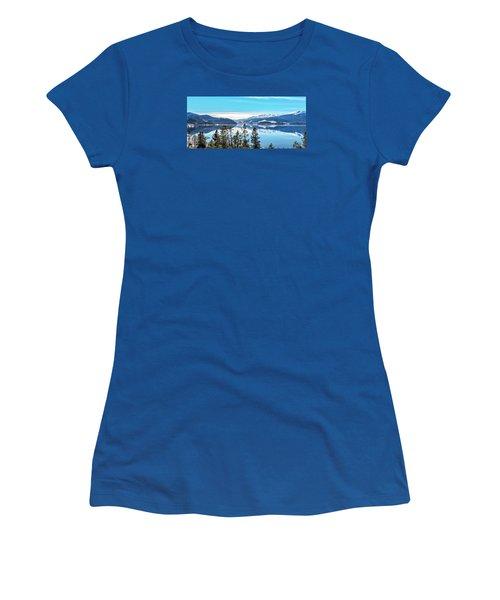 Lake Dillon Colorado Women's T-Shirt (Athletic Fit)