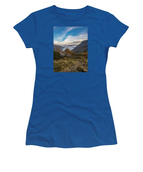 Lake District Views Women's T-Shirt (Athletic Fit)