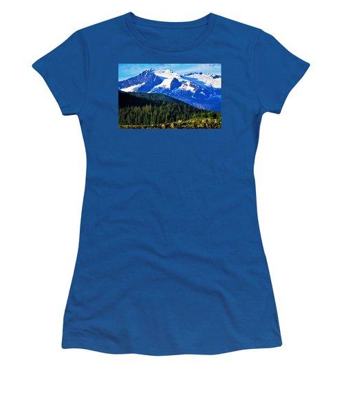 Earth Women's T-Shirt (Junior Cut) by Martin Cline