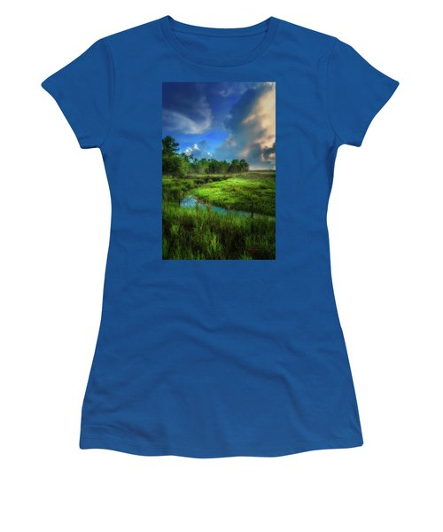 Women's T-Shirt (Junior Cut) featuring the photograph Land Of Milk And Honey by Marvin Spates
