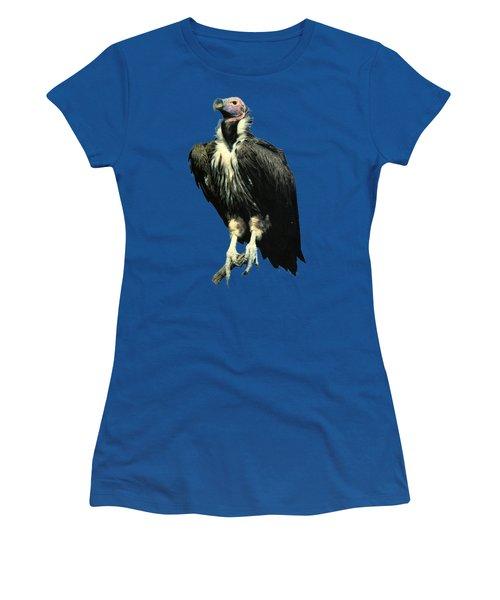 Lappet Face Vulture Women's T-Shirt (Junior Cut) by Teresa  Peterson