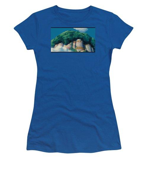 Laputa Castle In The Sky Women's T-Shirt