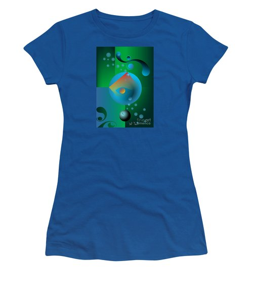 Late Night Prayer Women's T-Shirt (Junior Cut) by Leo Symon