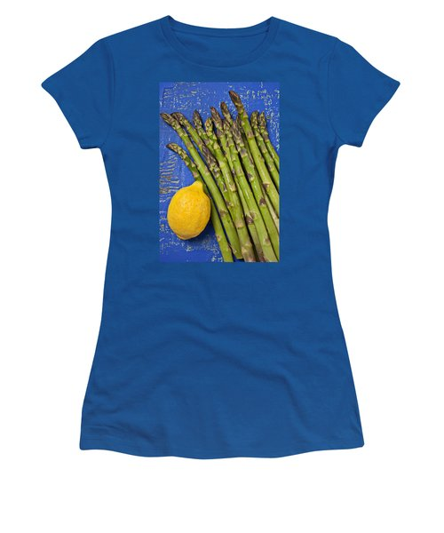 Lemon And Asparagus  Women's T-Shirt (Junior Cut) by Garry Gay