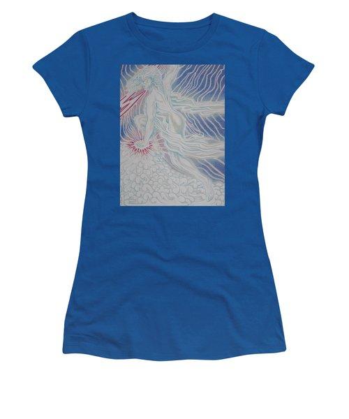 Lightning Goddess Women's T-Shirt (Athletic Fit)