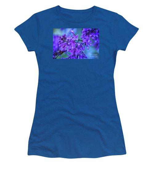Lilac Blues Women's T-Shirt (Athletic Fit)