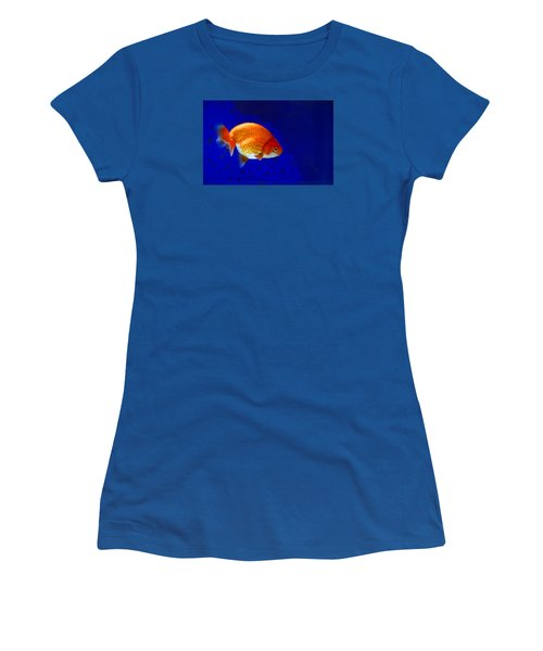 Lion Head Goldfish 6 Women's T-Shirt (Athletic Fit)