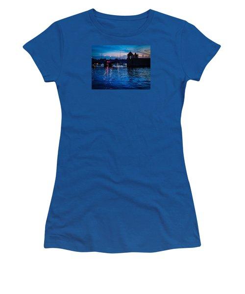 Liquid Sunset Women's T-Shirt (Junior Cut) by Glenn Feron