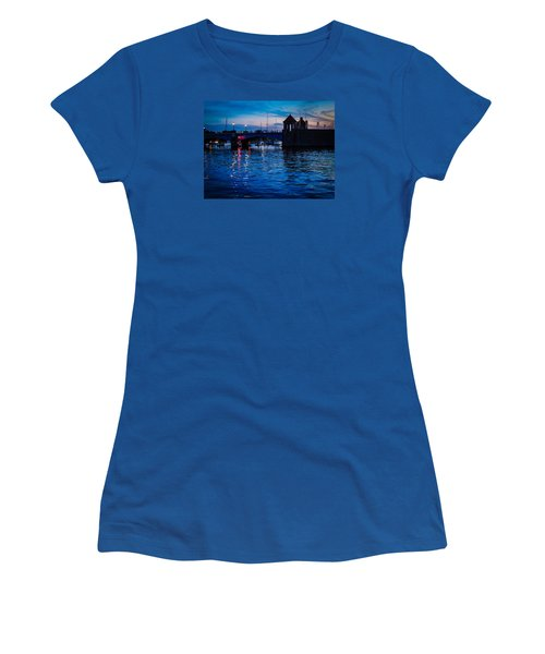Liquid Sunset Women's T-Shirt (Athletic Fit)