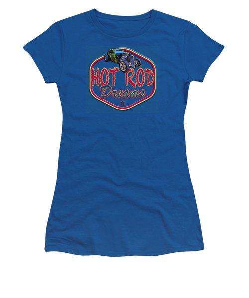 Live Ur Hot Rod Dreams - Vivachas Hot Rod Stories Women's T-Shirt
