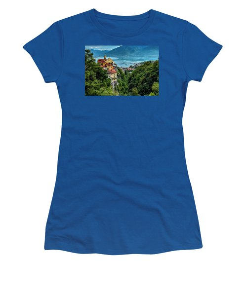 Locarno Overview Women's T-Shirt (Junior Cut) by Alan Toepfer