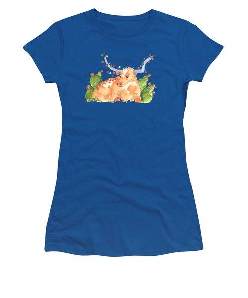 Longhorn Christmas Women's T-Shirt