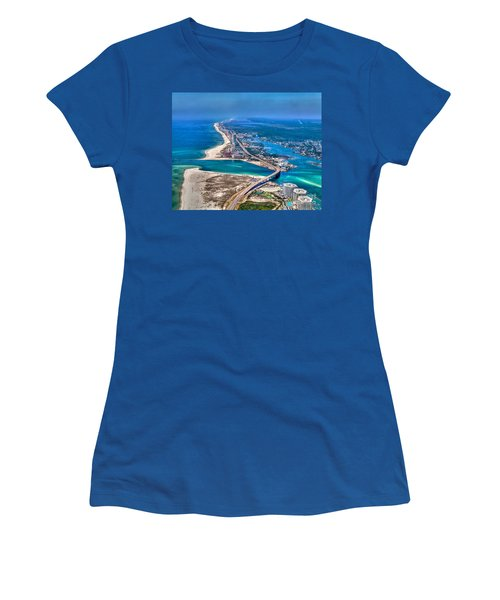 Looking West Across Perdio Pass Women's T-Shirt