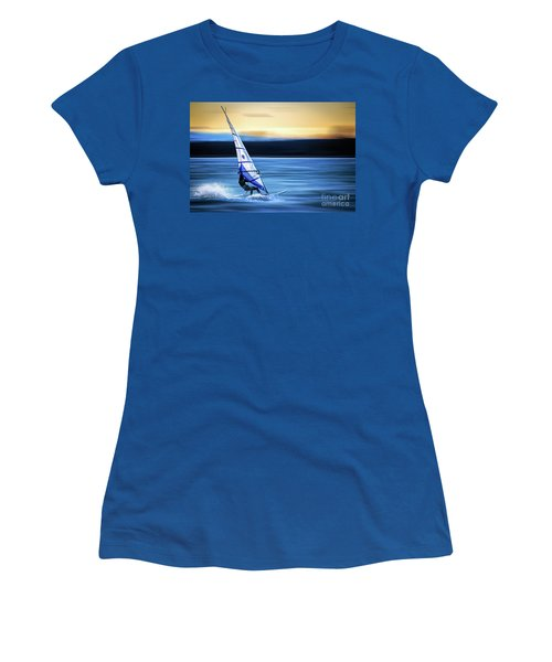 Women's T-Shirt (Junior Cut) featuring the photograph Looking Forward by Hannes Cmarits