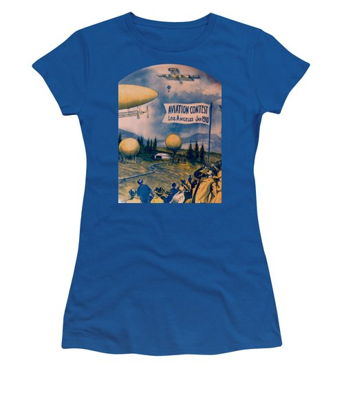 Los Angeles Aviation Contest 1910 Women's T-Shirt (Athletic Fit)