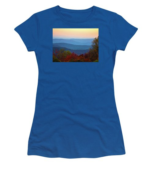 Women's T-Shirt (Junior Cut) featuring the photograph Lost On The Blueridge by B Wayne Mullins