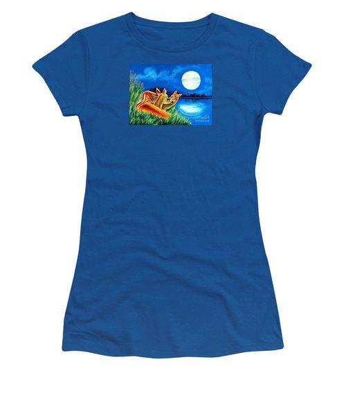 Love And Affection Women's T-Shirt (Junior Cut) by Ragunath Venkatraman