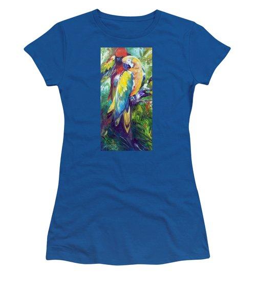 Macaw Pair Women's T-Shirt