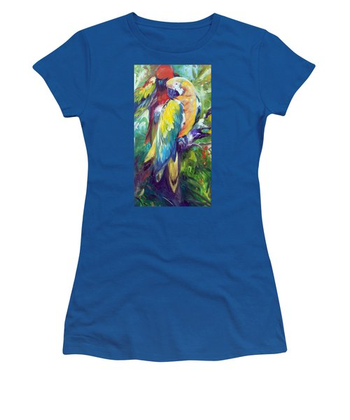 Macaw Pair Women's T-Shirt