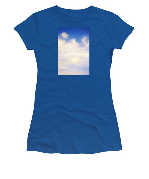 Women's T-Shirt (Junior Cut) featuring the photograph Magical Sky Part 4 by Janie Johnson