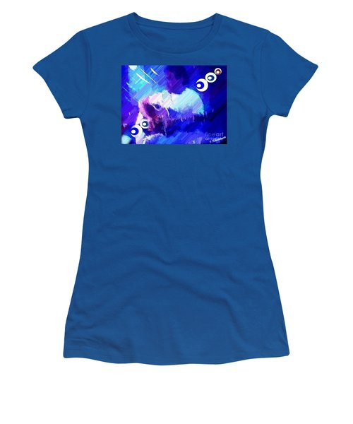Man With A Guitar Women's T-Shirt (Athletic Fit)