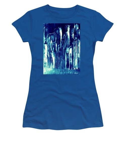 Manhattan Nocturne Women's T-Shirt (Athletic Fit)