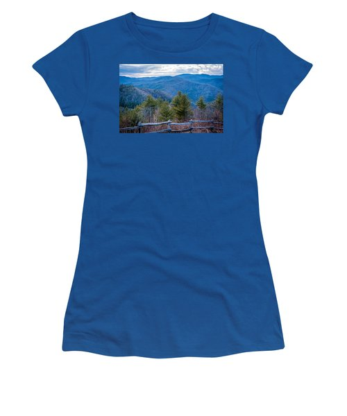 Mark Hannah Overlook Cataloochee Women's T-Shirt (Athletic Fit)