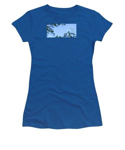 Women's T-Shirt (Junior Cut) featuring the photograph Maximize by David Norman