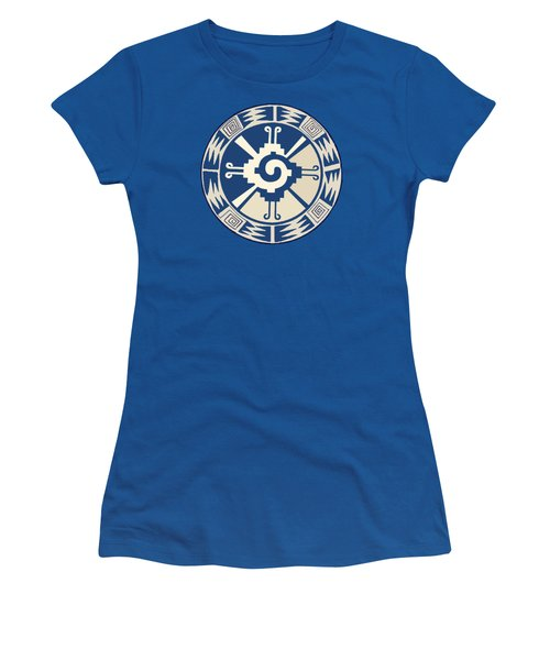 Mayan Hunab Ku Design Women's T-Shirt (Athletic Fit)