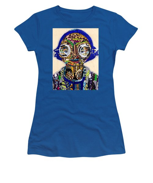 Maz Kanata Star Wars Awakens Afrofuturist Colection Women's T-Shirt