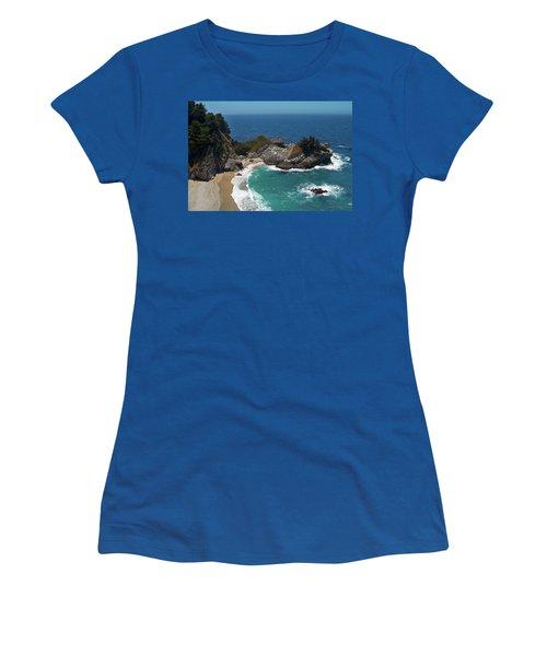 Mcway Falls In Big Sur Women's T-Shirt