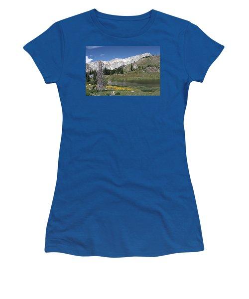 Medicine Bow Peak Women's T-Shirt (Athletic Fit)