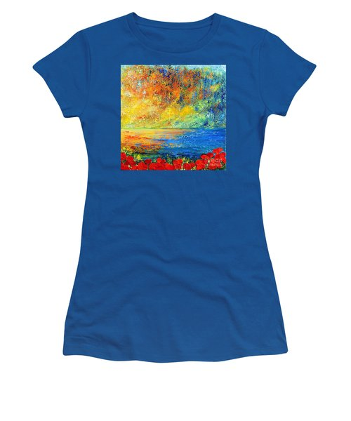 Memories Of Summer Women's T-Shirt (Athletic Fit)