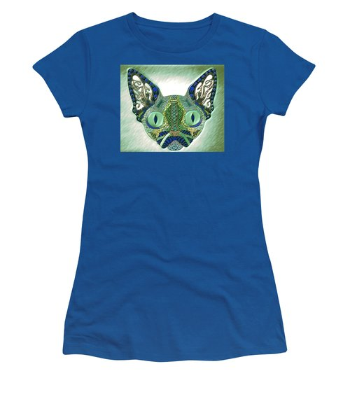 Meow Cat Women's T-Shirt (Athletic Fit)
