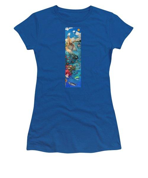 Mermaid In Paradise Women's T-Shirt