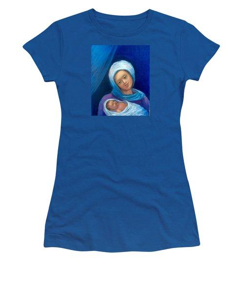 Merry Christmas Women's T-Shirt (Junior Cut) by Laila Awad Jamaleldin