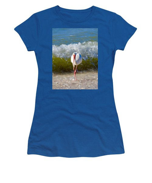 Mid Wave Feeding Women's T-Shirt (Athletic Fit)