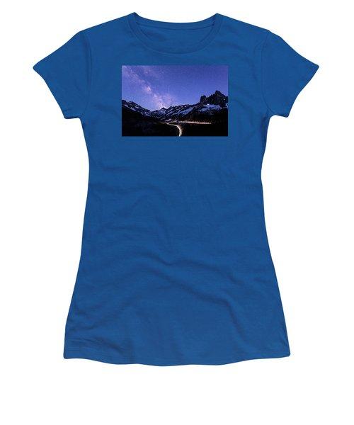 Milky Way At Washington Pass Women's T-Shirt
