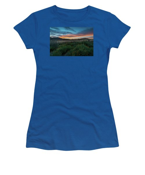 Mission Trails Poppy Sunset Women's T-Shirt